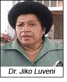 Dr. Jiko Luveni