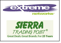 Sierra Trading selects Extreme's 10 Gigabit Ethernet network