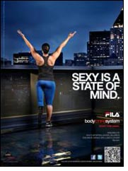 Fila's fall campaign highlights women's inner confidence