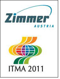 Live demo of COLARIS by Zimmer Austria at ITMA