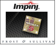 Frost & Sullivan recognizes Monza 5 RFID chip for apparel sector
