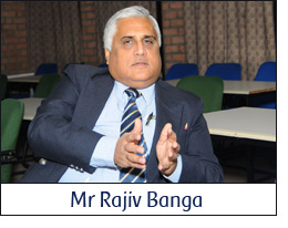 Mr Rajiv Banga