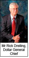 Mr Rick Dreiling, Dollar General Chief