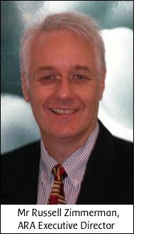 Mr Russell Zimmerman, ARA Executive Director