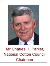 Mr Charles H. Parker, National Cotton Council Chairman