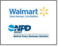 NPD to track Walmart POS for merchandise units