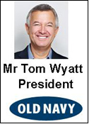 President of Gap's Old Navy resigns