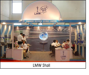 LMW features new generation spinning rings at TEXFAIR 2012
