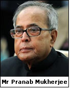 Mr Pranab Mukherjee