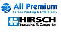 All Premium adds 10 color textile screen printing press