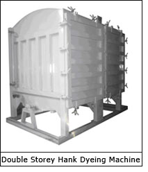 Double Storey Hank Dyeing Machine