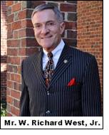 Richard West, Jr. as Textile Museum's Interim Director