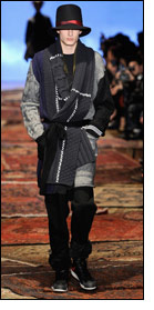 Y-3 shows Autumn/Winter 2012-13 collection in New York