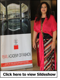Famed designer Angela Missoni inaugurates IFFTI event