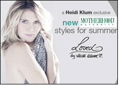 Moms-to-be look glamorous in Loved by Heidi Klum