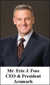 Aramark appoints Eric Foss as new CEO & President