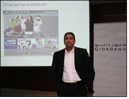 Giordano piloting online shopping in the UAE