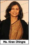 Ms. Kiran Dhingra