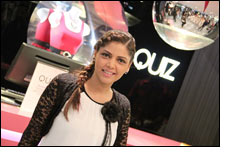 Pakistani singer Hadiqa Kiani new face of Quiz Clothing