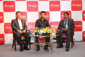 Sangam India unveils new range in corporate & festive wear