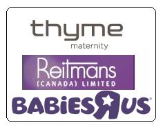 "Reitmans ties up with Babies ""R"" Us for Thyme Maternity"
