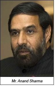 TUFS extended for 12th Plan period: Anand Sharma