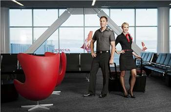 Banana Republic designs uniforms for Virgin America