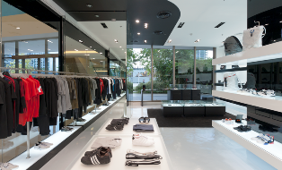 Y-3 store opening in Manila at Bonifacio Global City