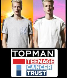Topman's new collection supports Teenage Cancer Trust