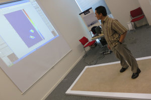 Optical fibres-based magic carpet can help prevent falls