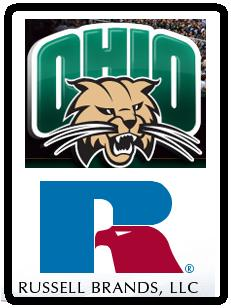 Ohio Uni's Bobcats to don Russell apparel through 2017
