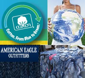 Cotton Inc & AEO continue partnership for denim recycling