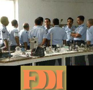 FDDI conducts training on clothing & inspection for IAF