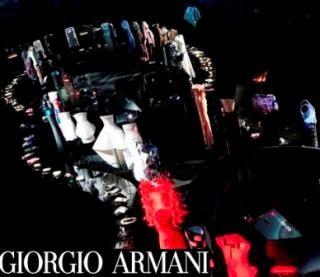 Giorgio Armani reveals dress collection at 'Eccentric'