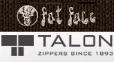 Talon to supply apparel trim & zipper items to Fat Face