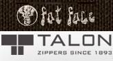 Talon to supply apparel trim & zipper items to Fat Face