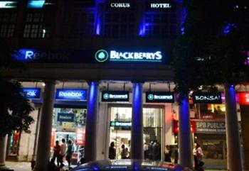 Blackberrys strikes heart of Delhi with new fashion store