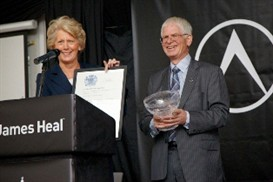 James Heal receives Queen's Award for International Trade