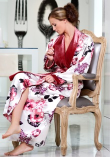 United States Of America : Designer SoffiaB launches luxury robes ...