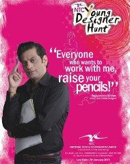 Raghvendra Rathore to overlook NTC 'Young Designer' hunt