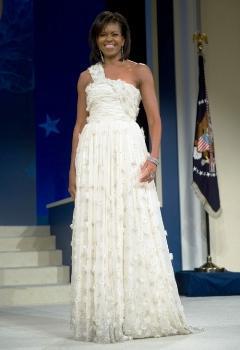 Mrs. Obama at 2009 Inaugural Ball