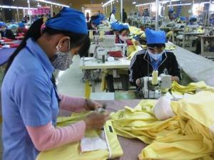 Yen Dinh garment unit (courtesy: Nhan Dan)