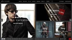 John Varvatos launches redesigned website