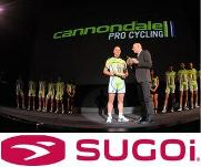 SUGOI sponsors apparel for Cannondale Pro Cycling Team