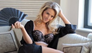 Michael Buble's wife Luisana Lopilato models for Ultimo