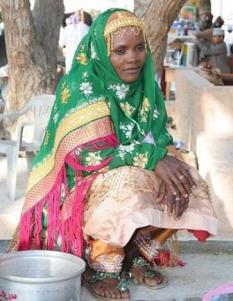 Traditional Omani dress/COD