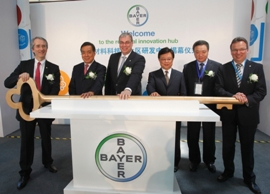 Bayer opens innovation hub for Asia Pacific