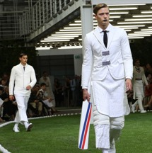 1920's English & Indian cricket inspired Moncler SS line
