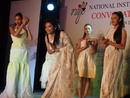Aspiring young graduates showcase designs at NIFT Kolkata