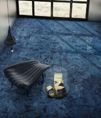 Interface to launch new carpet tile collection